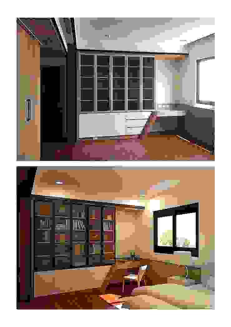 臥室裡的書房 by houseda