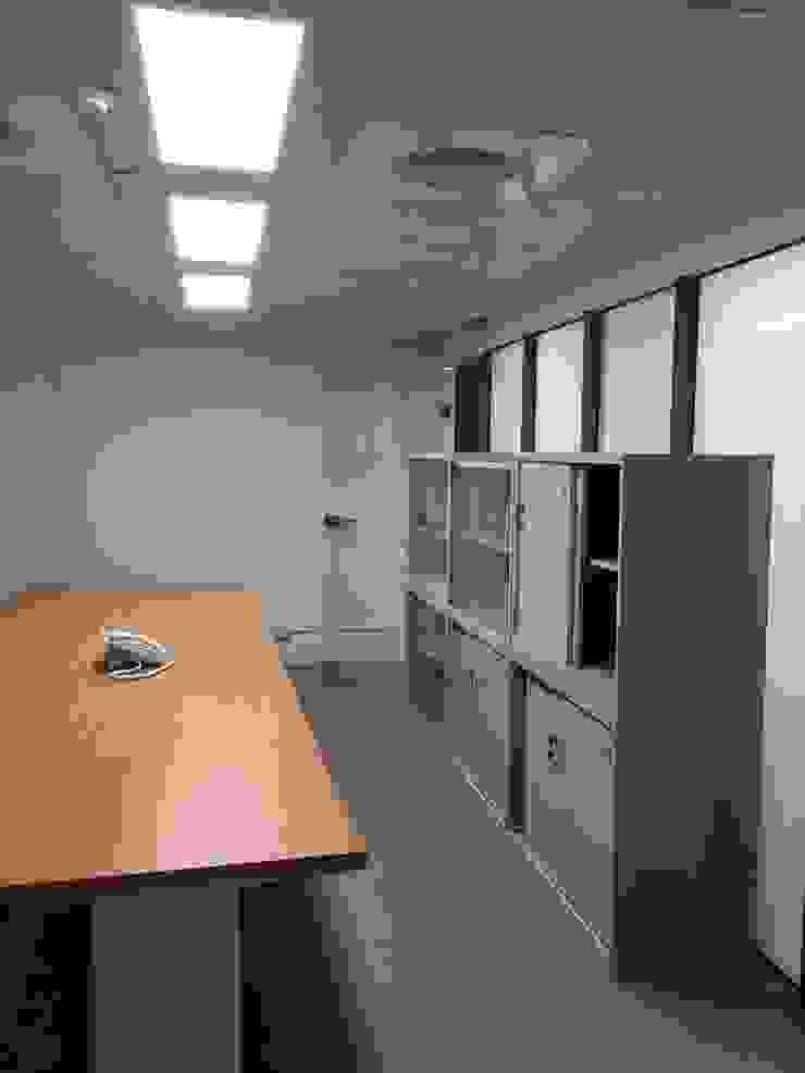 Phòng học/văn phòng phong cách hiện đại bởi houseda Hiện đại Ván ép