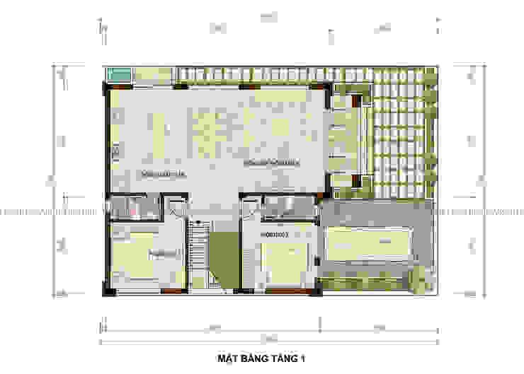 Biệt thự hiện đại tại Ứng Hòa – Hà Nội bởi Công ty CP kiến trúc và xây dựng Eco Home