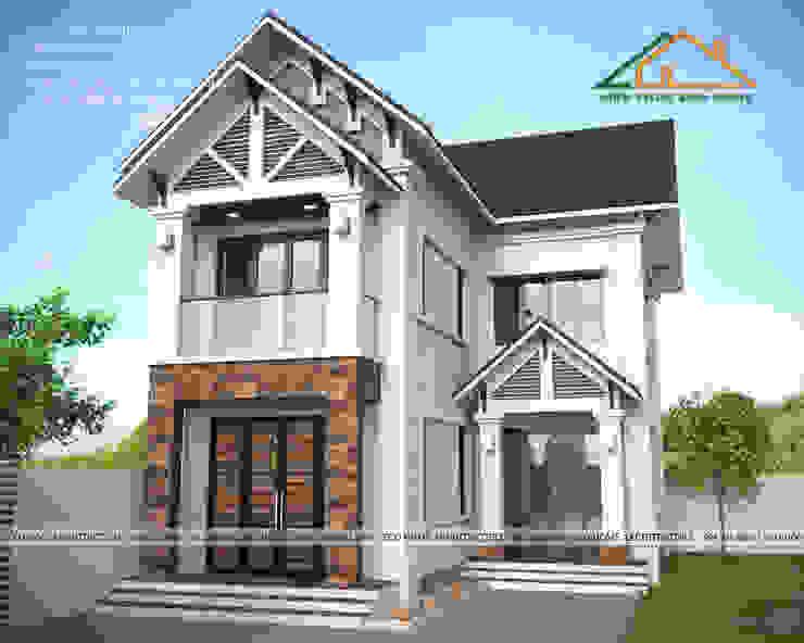 Thiết kế biệt thự tại Hưng Yên bởi Công ty CP kiến trúc và xây dựng Eco Home