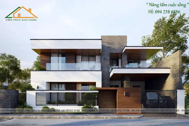 de Công ty CP kiến trúc và xây dựng Eco Home