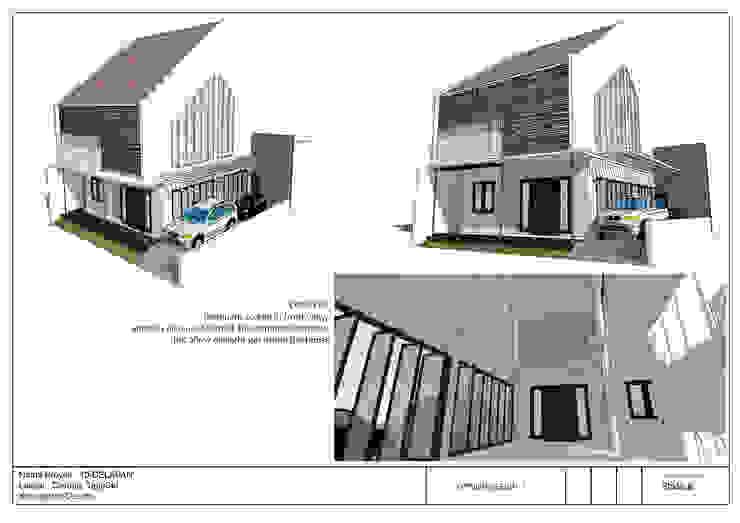 Fasade Rumah 10Delapan Oleh jaas.design