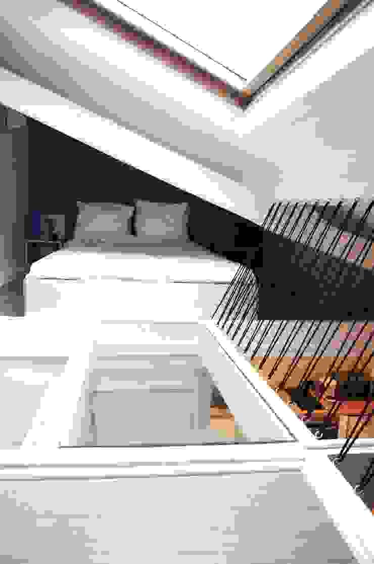 Studio Montmartre C'Design architectes d'intérieur Chambre scandinave
