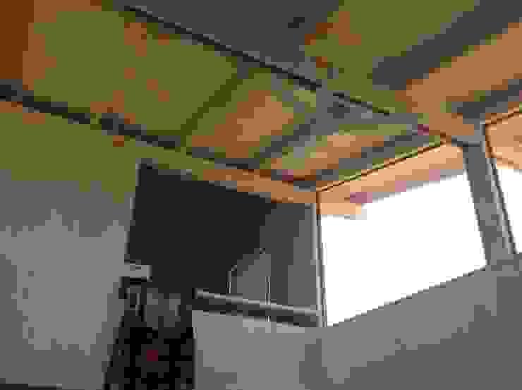 Salones rústicos rústicos de Casas del Girasol- arquitecto Viña del mar Valparaiso Santiago Rústico
