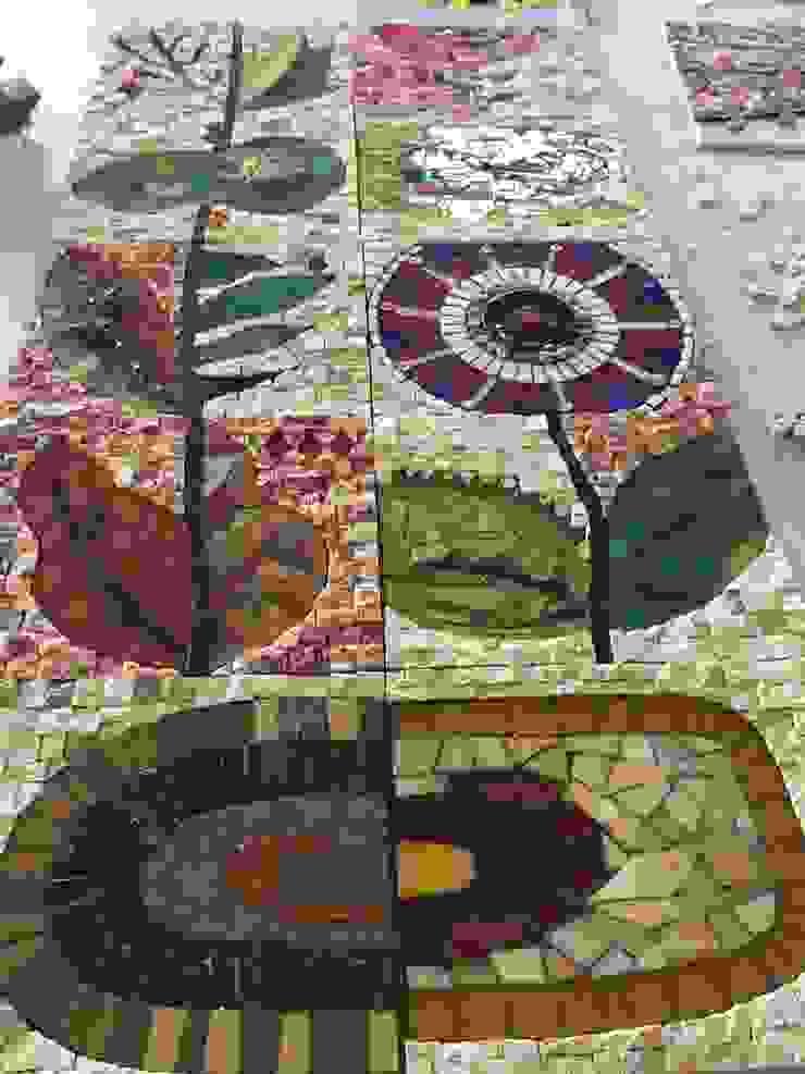 Mozaik Sanat Evi Balcones y terrazasAccesorios y decoración Azulejos