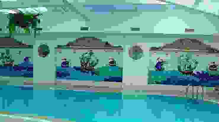 Mozaik Sanat Evi Classic style pool Tiles