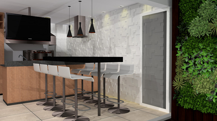 Murs & Sols modernes par Candido & Candido - Arquitetura | Engenharia Moderne