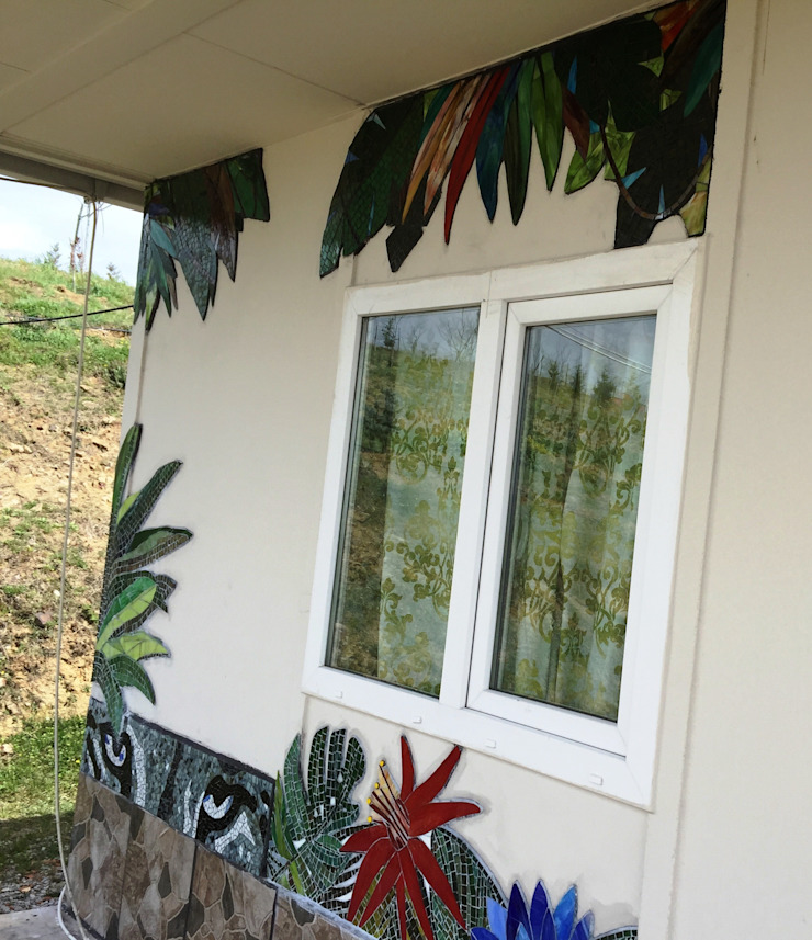 Mozaik Sanat Evi Balcones, porches y terrazasAccesorios y decoración Azulejos