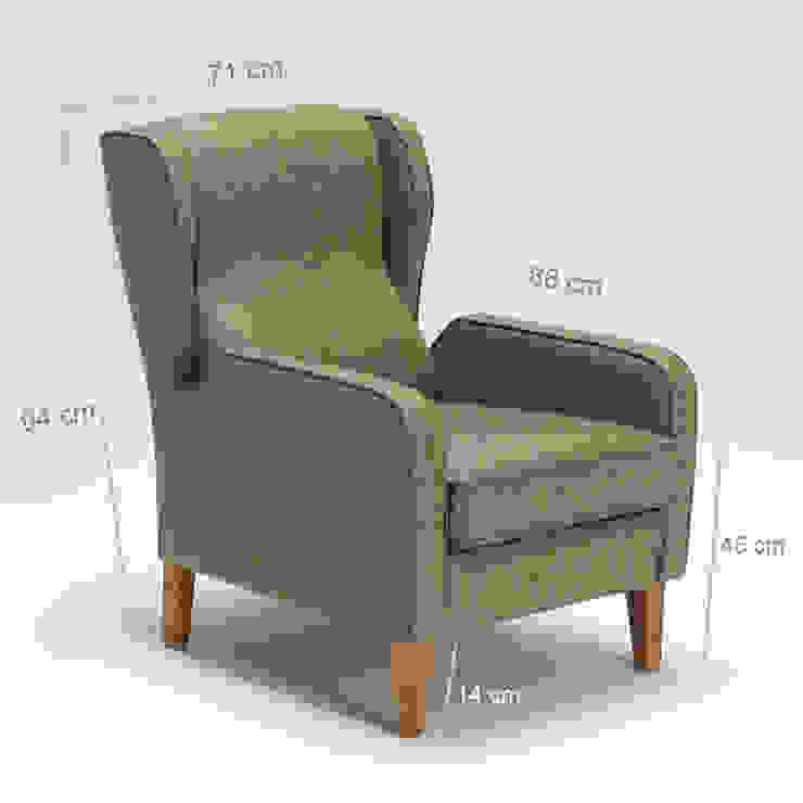 K105 Mobilya Pazarlama Danışmanlık San.İç ve Dış Tic.LTD.ŞTİ. 客廳沙發與扶手椅 木頭 Brown