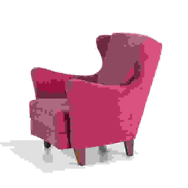 K105 Mobilya Pazarlama Danışmanlık San.İç ve Dış Tic.LTD.ŞTİ. Living roomSofas & armchairs Wood Pink