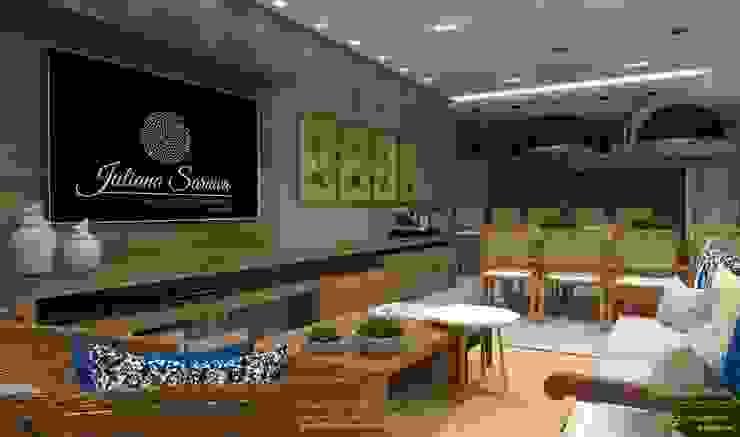 Espaço gourmet Juliana Saraiva Arquitetura & Interiores Cozinhas modernas