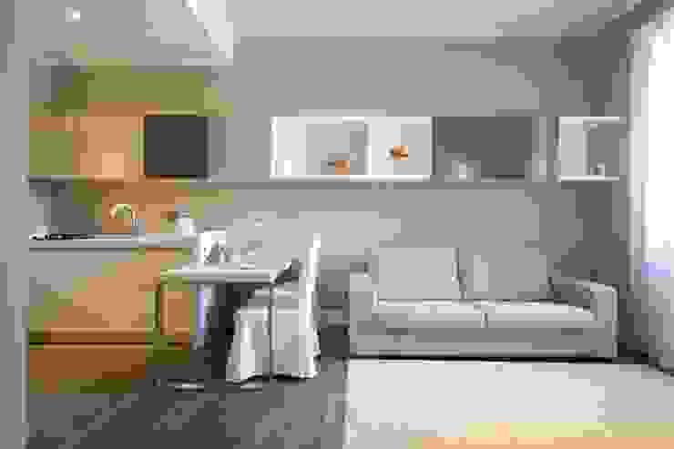 Salas de estilo moderno de GIAN MARCO CANNAVICCI ARCHITETTO Moderno