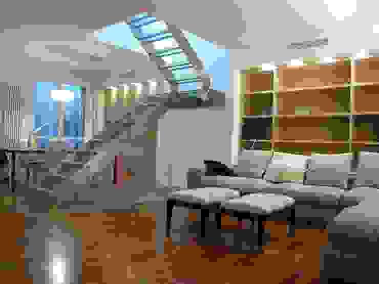 SOGGIORNO Soggiorno moderno di Studio Architettura Macchi Moderno