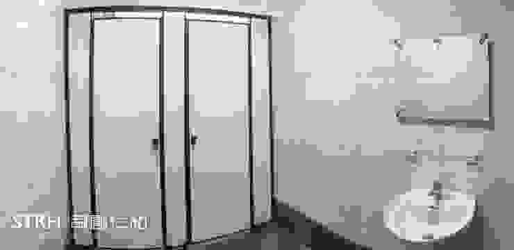 大安貿易大樓廁所翻新 根據 司創仁和匯鉅設計有限公司 工業風