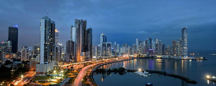 Avenida Balboa Modern Conservatory by LX Panama Real Estate Modern