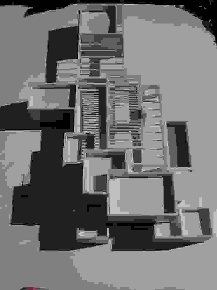 CASA SAZO de AOG Moderno Ladrillos