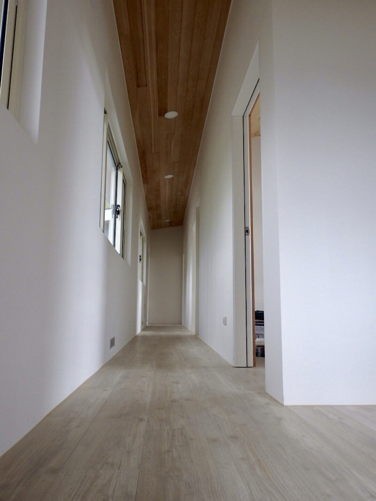 Modern Corridor, Hallway and Staircase by CPh ARCh Modern