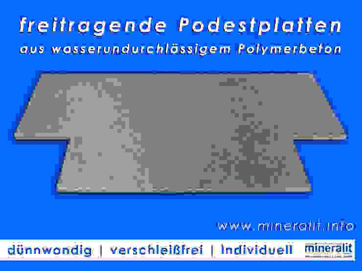 de Mineralit - Mineralgusswerk Laage GmbH Clásico Concreto reforzado