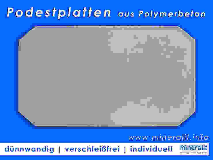 de Mineralit - Mineralgusswerk Laage GmbH Moderno Concreto