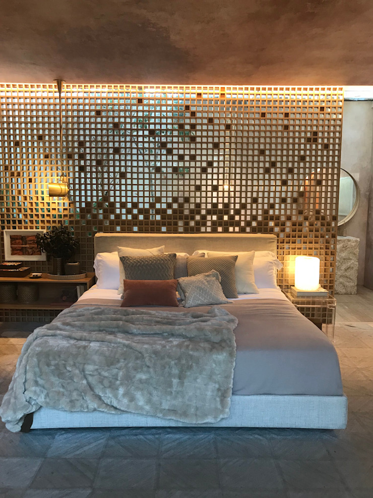 Eclectic style bedroom by Luísa Nascimento - Homify Eclectic