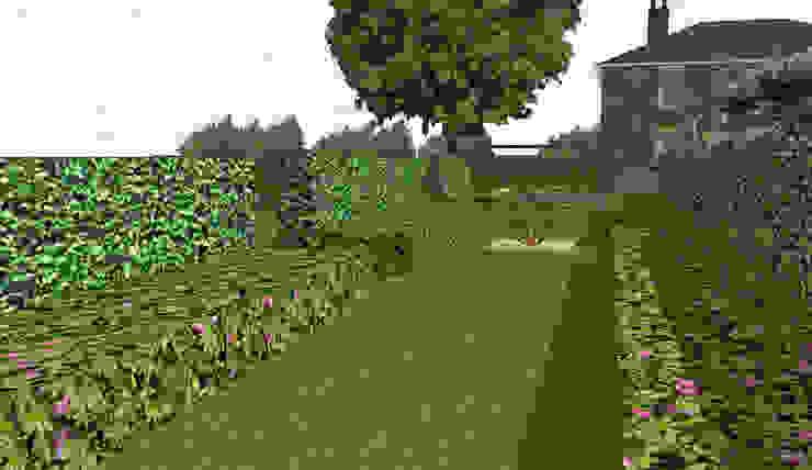 Hertfordshire Country Estate Garden (Braughing) Aralia Klasik Metal
