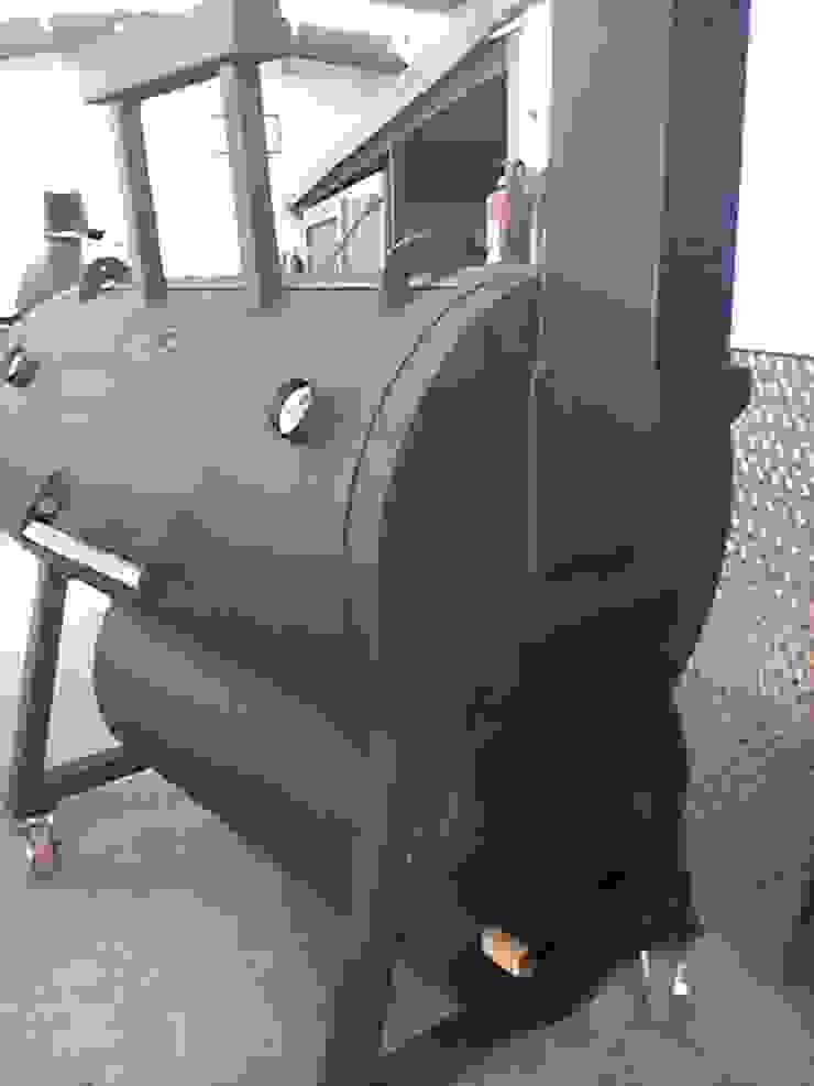 Ahumador Austin de Smoke King Ahumadoras Rústico Hierro/Acero