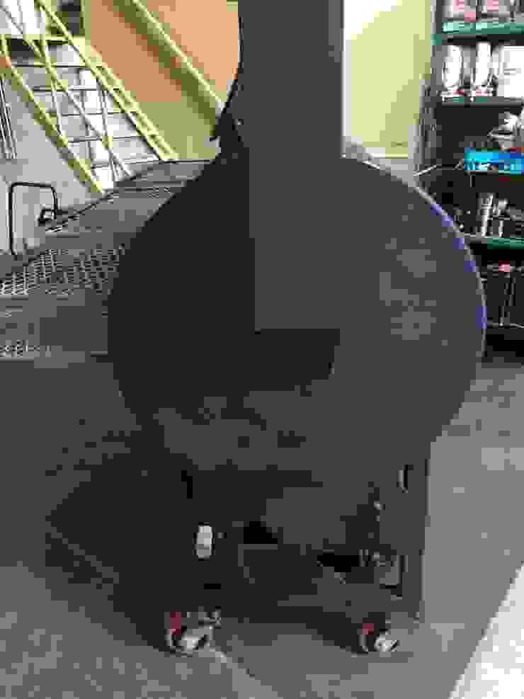 Ahumadora en leña Austin de Smoke King Ahumadoras Rústico Hierro/Acero