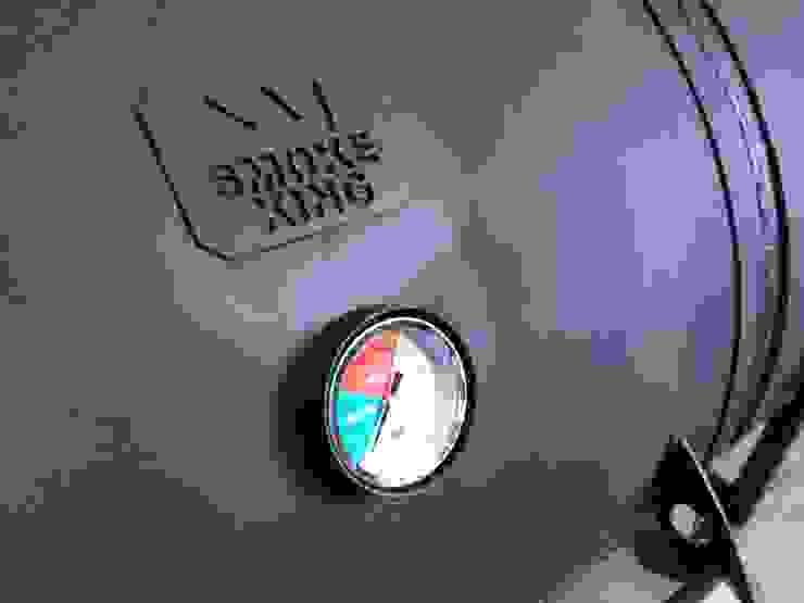 Asador Austin de Smoke King Ahumadoras Rústico Hierro/Acero