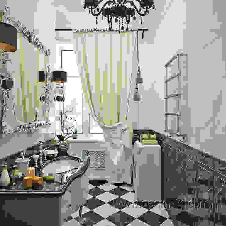 Baños de estilo clásico de студия Design3F Clásico