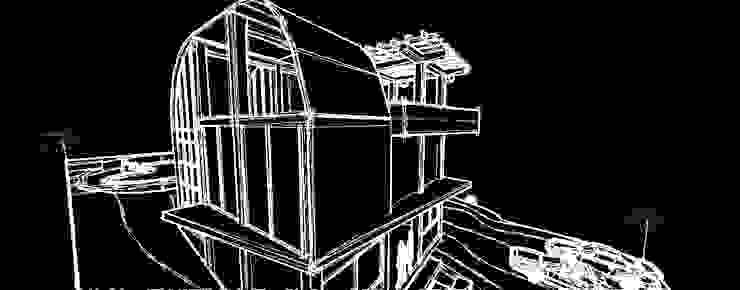 Renderizado de modelos 3D en AutoCAD de JOSE RAFAEL FERERO ARQUITECTO