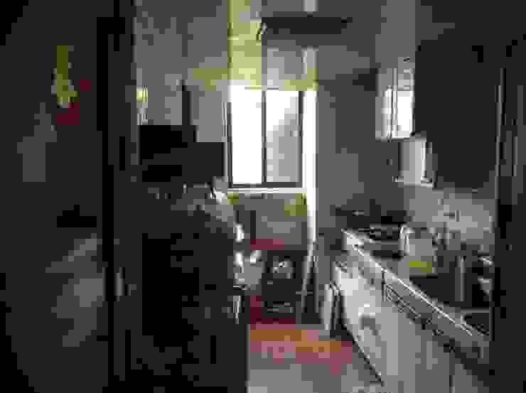 厨房原貌 根據 果仁室內裝修設計有限公司 北歐風