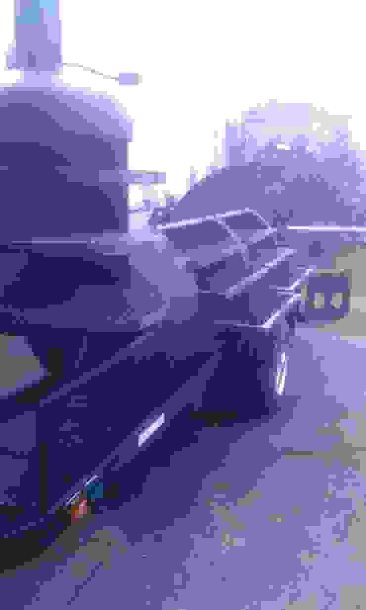 Ahumadora Boss Hogg de Smoke King Ahumadoras Rústico Hierro/Acero