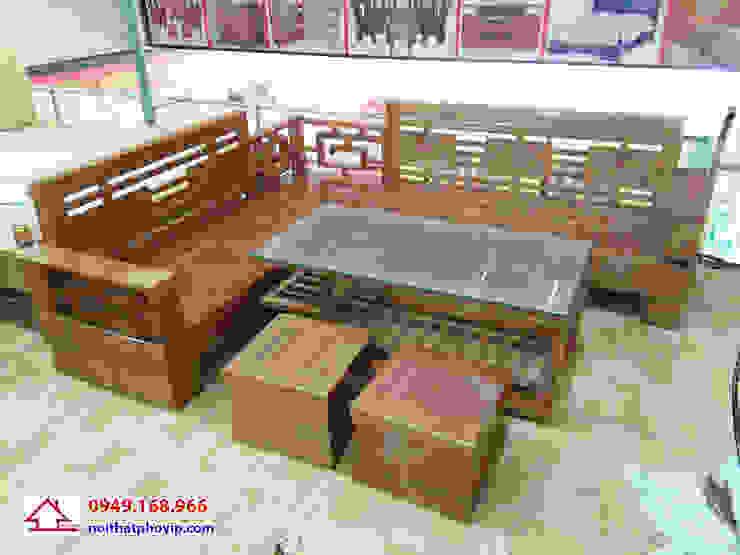 Mẫu SLS740: hiện đại  by Đồ gỗ nội thất Phố Vip, Hiện đại