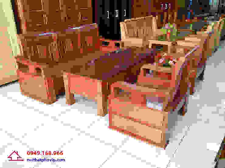 Mẫu SLX700: hiện đại  by Đồ gỗ nội thất Phố Vip, Hiện đại
