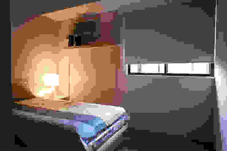 臥室 根據 果仁室內裝修設計有限公司 北歐風