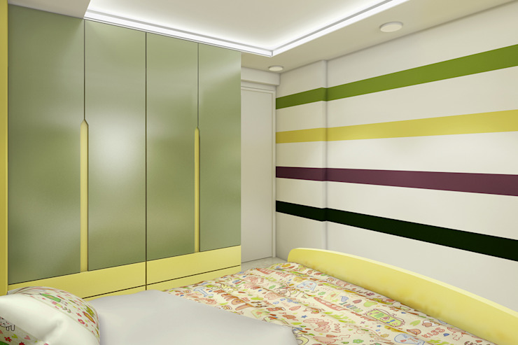 Residence Interiors:  Bedroom by Spaces Alive,Asian