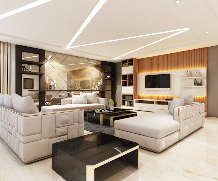 Interiors Modern living room by Spaces Alive Modern