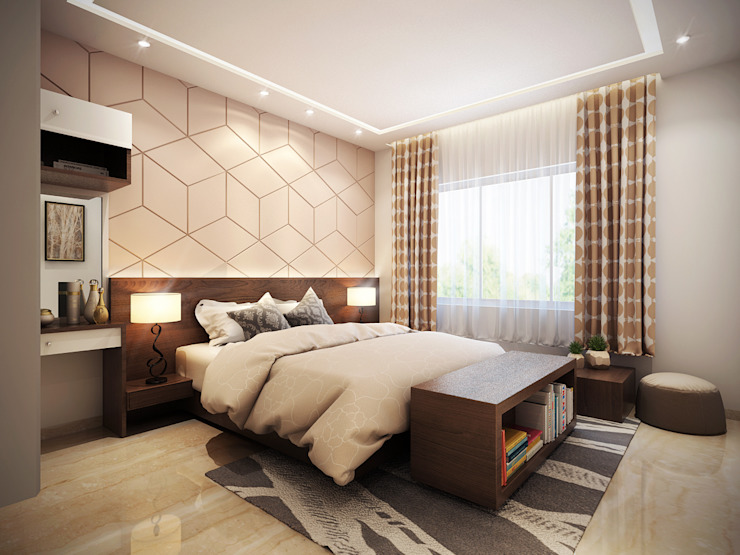 Interiors:  Bedroom by Spaces Alive,