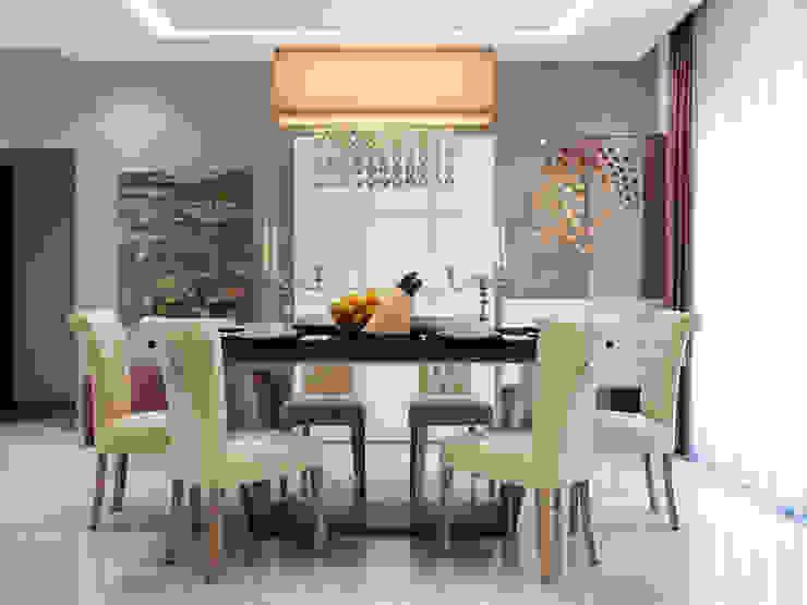 Interiors Mediterranean style dining room by Spaces Alive Mediterranean