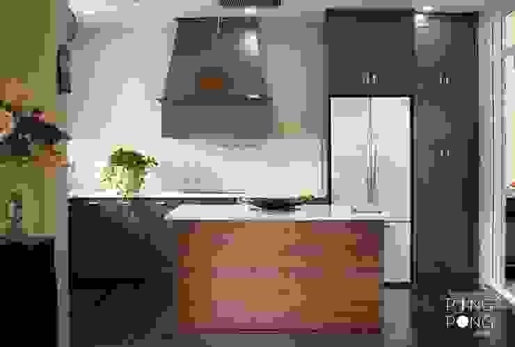 Thiết kế & thi công Bếp Nhà bếp phong cách hiện đại bởi PingPong Atelier Furniture Hiện đại
