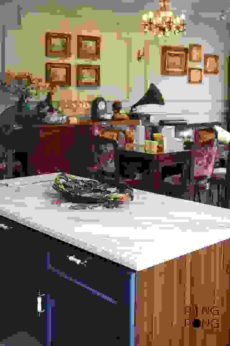 Thiết kế & thi công Bếp bởi PingPong Atelier Furniture Hiện đại