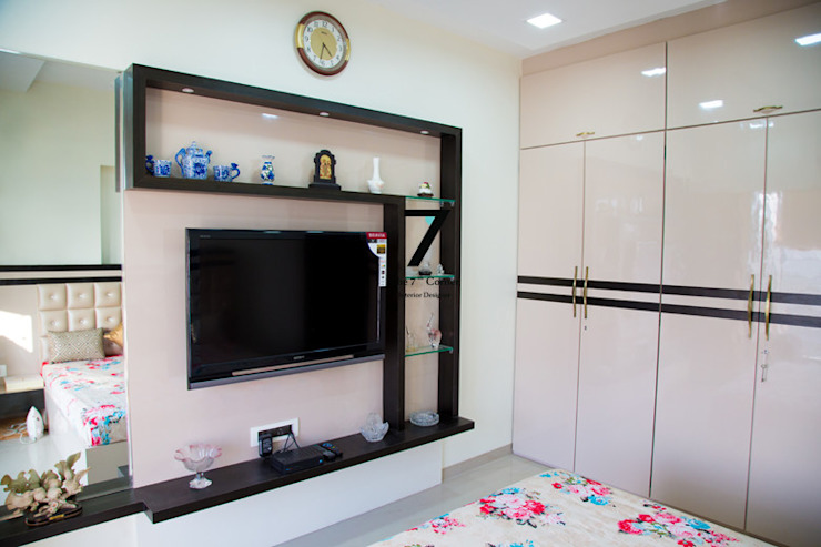 What Is The Right Height For The Television In A Room Homify