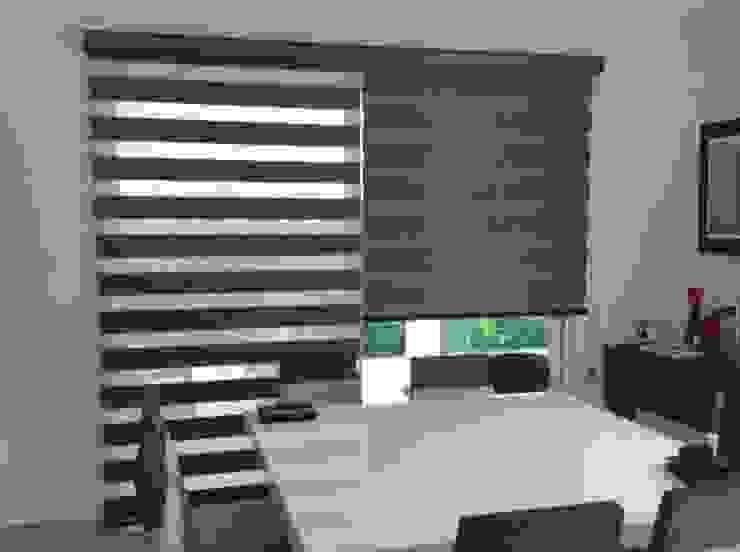 Wood Look de Interiorismo 3P Moderno Textil Ámbar/Dorado