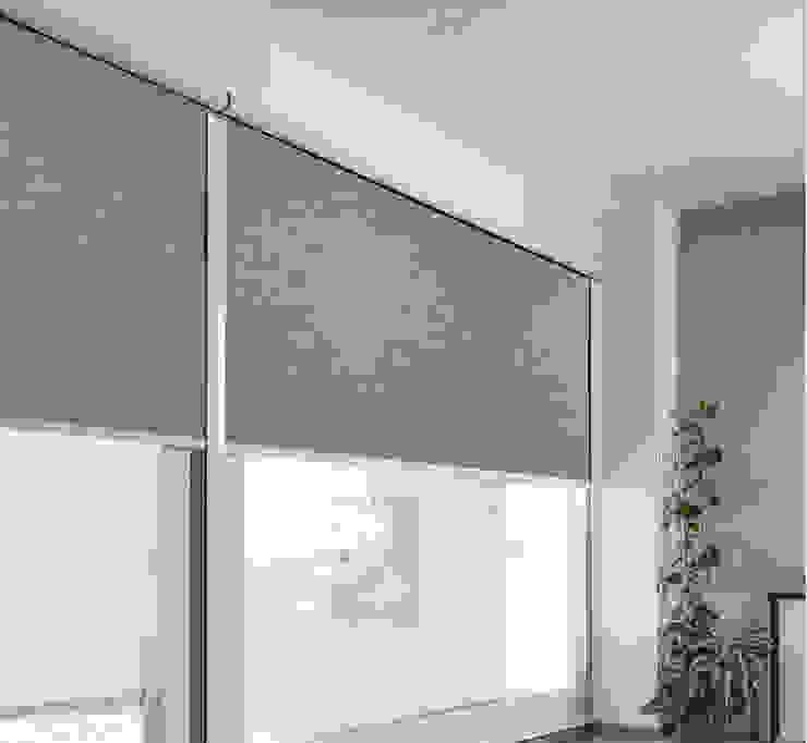 Sistema con canaletas de Interiorismo 3P Moderno Textil Ámbar/Dorado