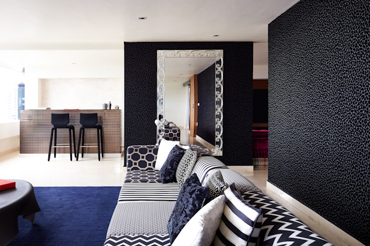 Living room by Progressive Design Firm,