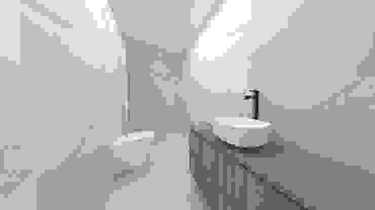 Minimalist style bathroom by IAM Interiores Minimalist