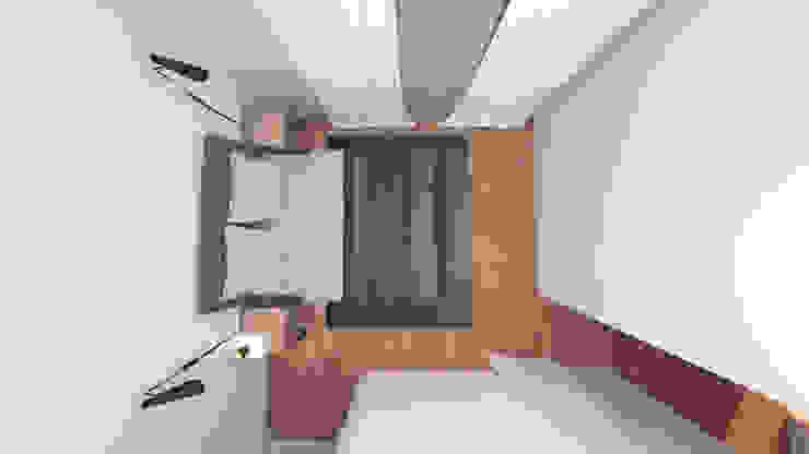 Minimalist bedroom by IAM Interiores Minimalist