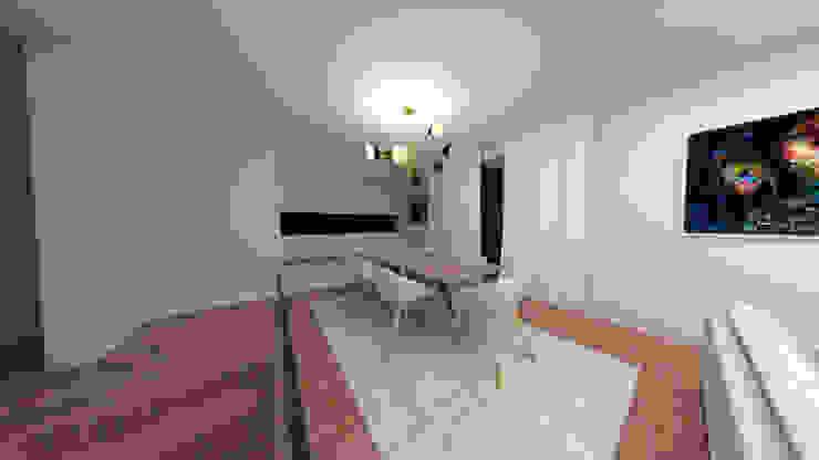 Minimalist dining room by IAM Interiores Minimalist