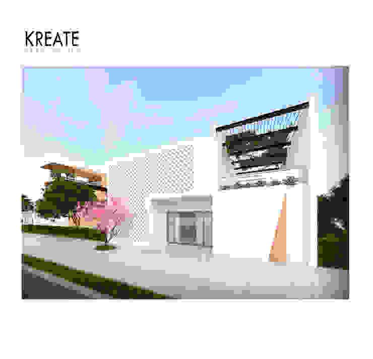 Vivienda MDRN. de KREATE Arquitectura