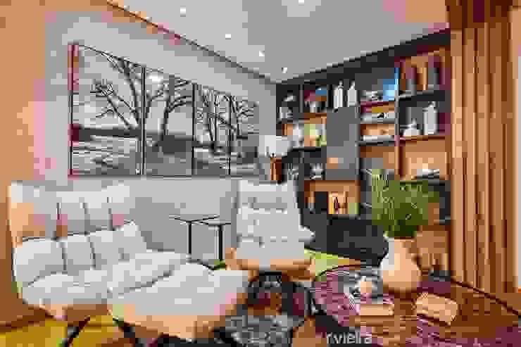 STUDIO 405 - ARQUITETURA & INTERIORES Living room